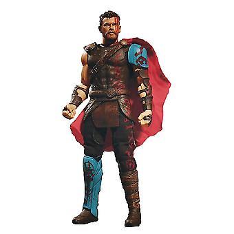 Thor Ragnarok One:12 Action Figure Thor Detailed Action Figure in Plastic. Manufacturer: MEZCO.