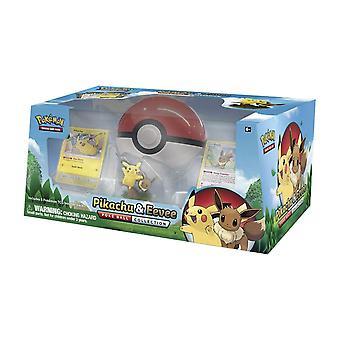 Pokemon TCG Pikachu & Eevee Poke Ball Collection Card Game