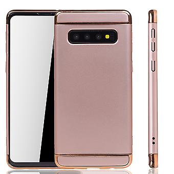 Samsung Galaxy S10 Handy Hülle Schutz Case Bumper Hard Cover Pink