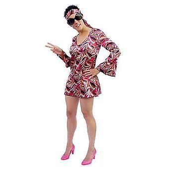 Costumes de femmes Disco Dress rouge