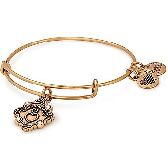 Alex and Ani Goddaughter Charm Bangle Bracelet 2018 - Rafaelian Gold - A18BILY08RG