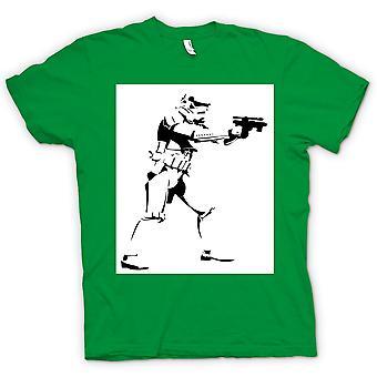 Womens T-shirt-Star Wars - Storm Trooper - popart