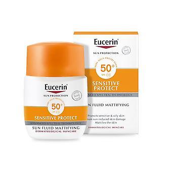 Eucerin Sun Fluid Mattifying Fluid SPF50+ 50ml