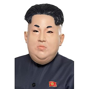Smiffy's Kim Jong-Un Korean Dictator Overhead Mask Flesh Latex Fancy Dress