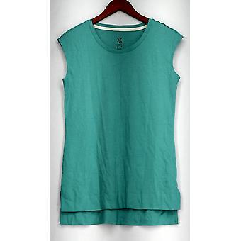 Isaac Mizrahi en direct! Top Essentials Pima Cotton Turquiose Bleu A289637