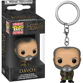 Game of Thrones Davos Pocket pop! Nøglering
