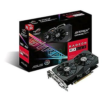 Asus rog-strix-rx560-4g-gaming graphics card amd radeon rx560 4gb gddr5 pci express 3.0 interface with fan