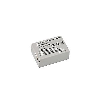 BRESSER Lithium-Ionen Ersatzakku für Canon NB-7L