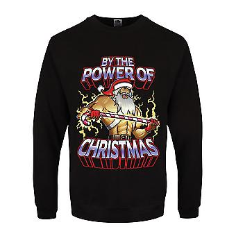 Grindstore Mens By The Power Of Christmas Jumper