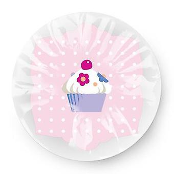 Sweet Cupcake Lightweight Elasticated Shower Cap