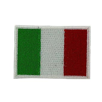 Lot 5/10/25/50 Patch Drapeau Italie Italien Backpack Ecusson Brode Thermocollant