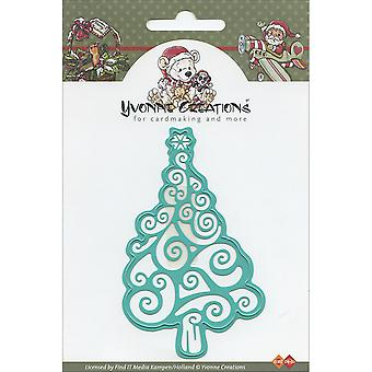 Find It Trading Yvonne Creations Die-Christmas Tree CDD10001