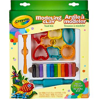 Crayola Modeling Clay Tool Kit-  57-0320
