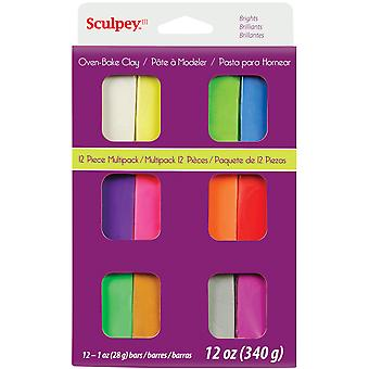 Sculpey Iii Multi Packs Brights S3 Vmb6