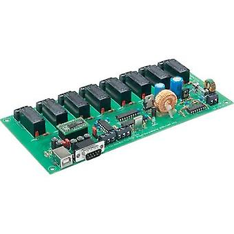Conrad Components 8 Channel PC Relay Board, RS232 Serial, 230Vac, 16A