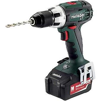Metabo BS 18 LT Cordless drill 18 V 4 Ah Li-ion incl. spare battery, incl. case