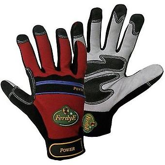 FerdyF. 1910 Glove Mechanics POWER Clarino-Synthetic Leather Size 8 - 11