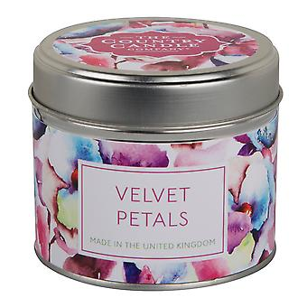 Chelsea Collection Candle in a Tin - Velvet Petals