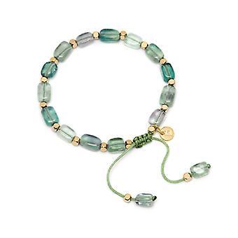 Lola Rose Starla Bracelet Emerald Green Fluorite