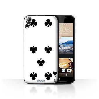 STUFF4 Case/Cover for HTC Desire 830/7 of Clubs/Playing Cards