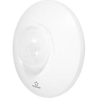 Ceiling, Wall PIR motion detector renkforce 1362919 360 ° Relay White IP44