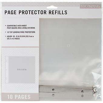 K&Company Page Protector Refills 8