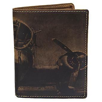 GREENBURRY vintage leather purse wallet AP-1701-25