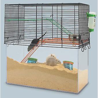 Habitat enriche Cage 52x26x52.5cm