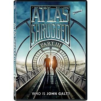 Atlas Shrugged Part III [DVD] USA import