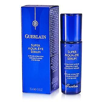 Guerlain Super Aqua Eye Serum - Intense Hydration Wrinkle Plumper Eye Reviver - 15ml/0.5oz