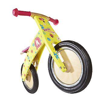 Kiddimoto Kurve- Bike Yellow Flower