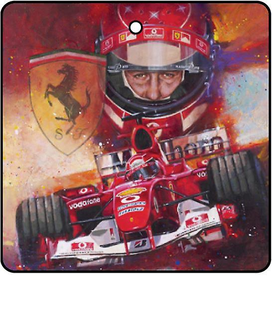 Michael Schumacher Car Air Freshener
