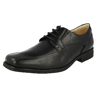 Herre anatomiske Smart snøre sko Platina