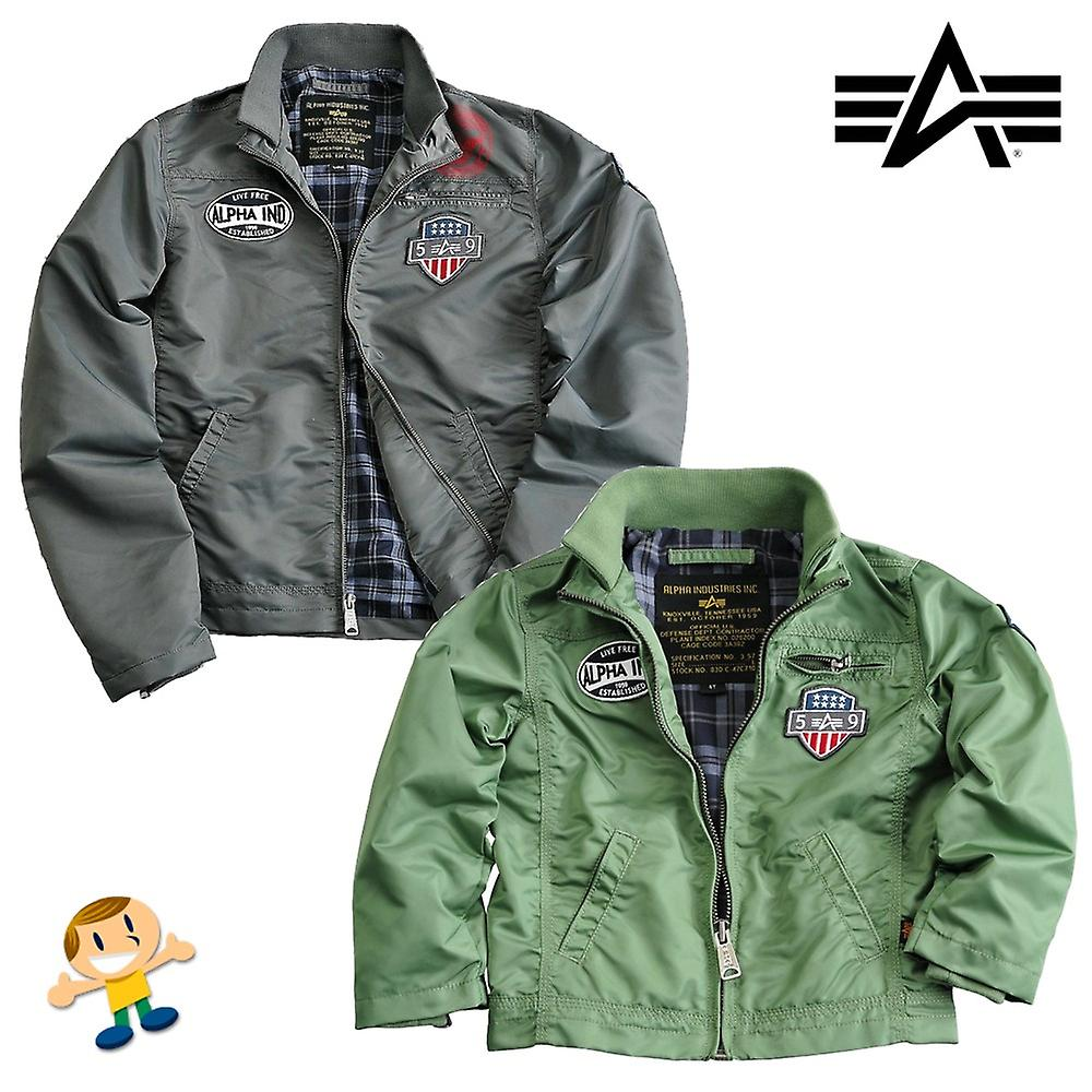 Alpha Industries Kids Jacket Mechanic II