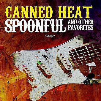 Importer des Canned Heat - cuillerée & USA autres favoris [CD]