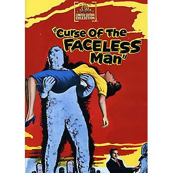 Curse of the Faceless Man [DVD] USA import