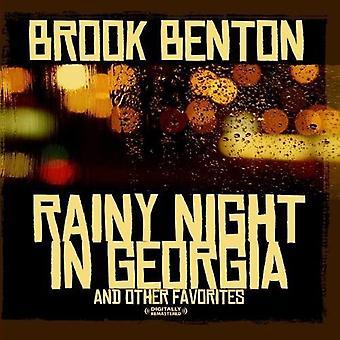 Brook Benton - Rainy Night in Georgia & andere Favoriten [CD] USA import