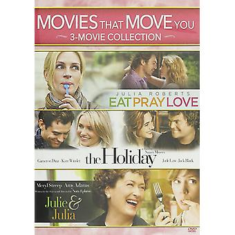 Movies That Move You: Julie & Julia / the Holiday [DVD] USA import