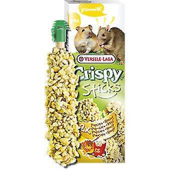 Versele Laga Sticks Hamsters and Rats Popcorn & Honey 2 Pieces (Roedores , Snacks)
