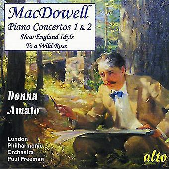 E. Macdowell - Macdowell: Piano Concertos Nos. 1 & 2 [CD] USA import