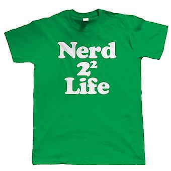 Nerd 4 Life, śmieszne męskie T Shirt