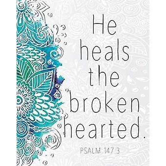 He Heals Poster Print by Kimberly Allen