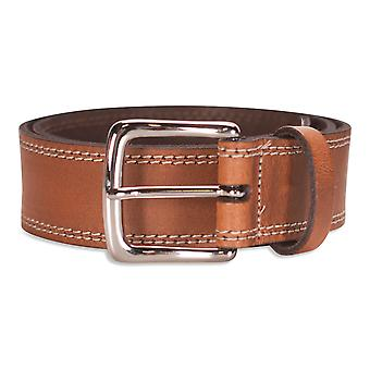 Hawkdale Mens Real Leather Belt 1.5'' Width Genuine Jeans Belts Gents 870-400