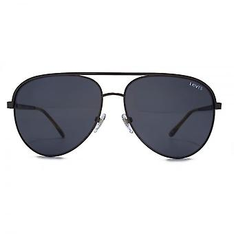 Levis Pilot Sunglasses In Matte Gunmetal