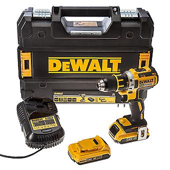 DEWALT Dcd790D2 trapano Brushless compatto Driver 18V/w 2 - 2.0 ah batterie Li-Ion