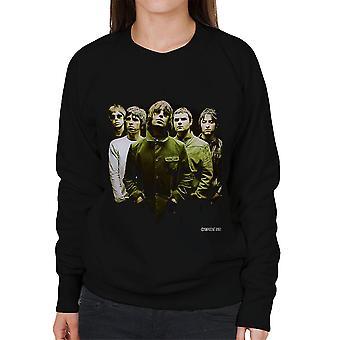 Oase Band Liam Noel Gallagher vrouwen Sweatshirt