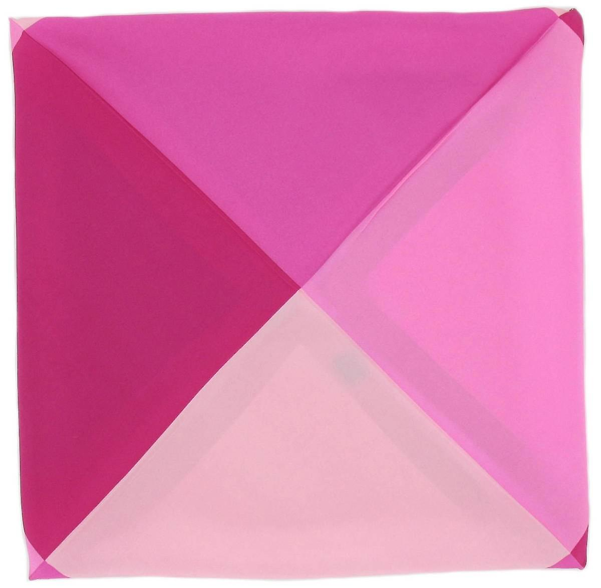 Michelsons of London Four Way Silk Handkerchief - Fuchsia