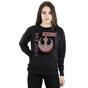Star Wars Women's The Last Jedi Light Side Sweatshirt