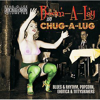 Forskellige kunstner - eksotiske Blues & rytme 7 & 8 [CD] USA importerer