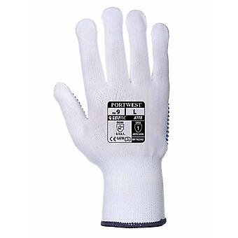 Portwest - Polka Dot Gripper Glove (12 Pair Pack)